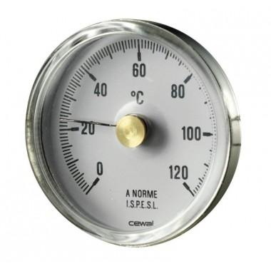 Біметалічний термометр накладний для труб BRC Cewal BRC (91616000)
