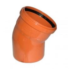 Колено наружной канализации Redi 110 30° (011115Е)