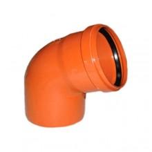 Колено наружной канализации Redi 110 67° (013115Е)