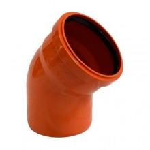 Колено наружной канализации Redi 160 45° (070165Е)
