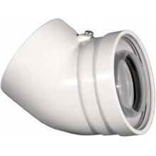 Колено AntKalip для конденсационных котлов 45° 60/100 мм