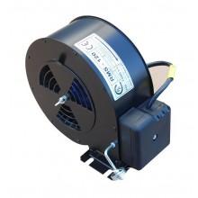 Вентилятор для твердотопливного котла Pol-Fans RMS-120 Typ A L=1 m 80 W (для котлов SE-8-25)