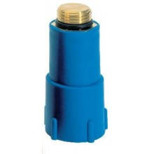 Заглушка Goplast пластик-латунь синяя (1142ОТТ002)