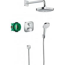 Душевая система Hansgrohe Croma Select E/Ecostat E 8в1, хром (27294000)