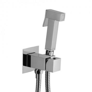 Гигиенический душ со смесителем PafFoni Tweet Square Mix (ZDUP112CR)