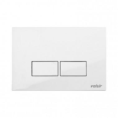 Клавіша механічна Valsir P3 біла ABS пластик (869201)