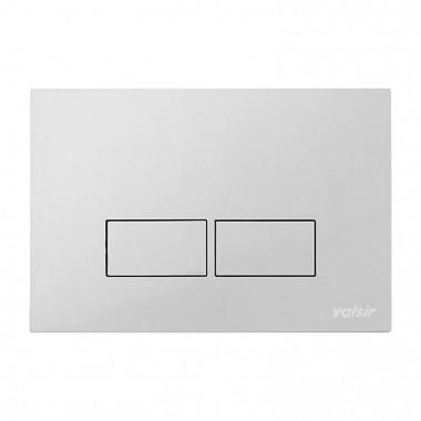 Клавіша механічна Valsir P3 хром матовий ABS пластик (869237)