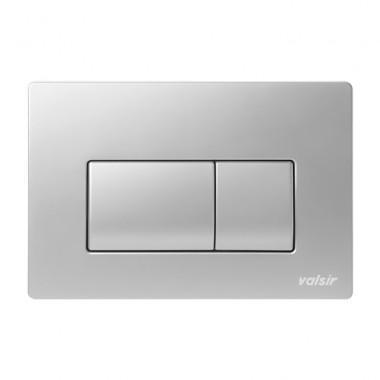 Клавіша механічна Valsir P1 хром матовий ABS пластик (871337)