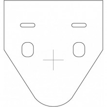 Прокладка унитаз/стена Valsir (VS0805350)