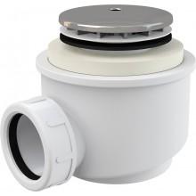 Сифон для душового піддону Alcaplast A47CR 50 мм хромований