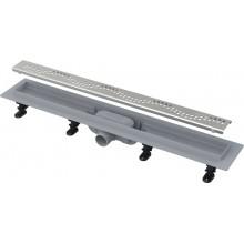 Водовідвідний жолоб Alcaplast APZ8-750m Simple з порогами для перфорованої решітки