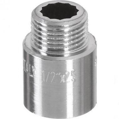 Подовжувач хром ВЗ 1/2х25 мм Pattaroni F194CR011