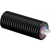 Теплоизолированная труба Uponor Ecoflex Thermo Twin PN6 2х63х5,8мм/200 мм