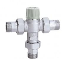 Регульований термостатичний змішувач Caleffi 3/4 30-50° C з захистом від опіку (521713)