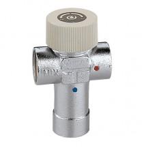Термостатический смеситель Caleffi 1/2 регулируемый 40-60 (520440)