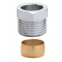 Компрессионный фитинг двухконусный Caleffi 1/2х15 (441415)
