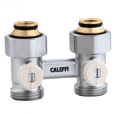 Кран радиаторный прямой Caleffi 3/4х3/4 нижнего подключения (301050)