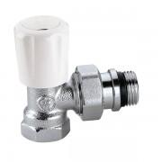 Кран радиаторный термостатический с предварительной настройкой Caleffi 1/2 универсальный угловой (421402)