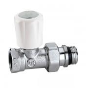 Кран радиаторный термостатический Caleffi 1/2 универсальный  прямой (402402)