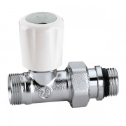 Кран радіаторний термостатичний Caleffi 1/2 універсальний прямий M23x1.5 (339402)