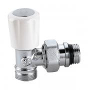 Кран радіаторний термостатичний Caleffi 1/2 універсальний кутовий M23x1.5 (338402)