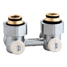 Кран радиаторный угловой Caleffi 3/4х3/4 нижнего подключения (301150)