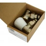 Комплект E.C.A. вентиль угловой+отсекатель 1/2 с уплотнителем (ЗА015)